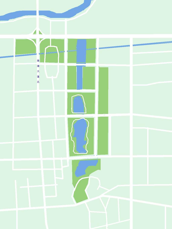南海千灯湖公园地图 (点击地图看详细大图)