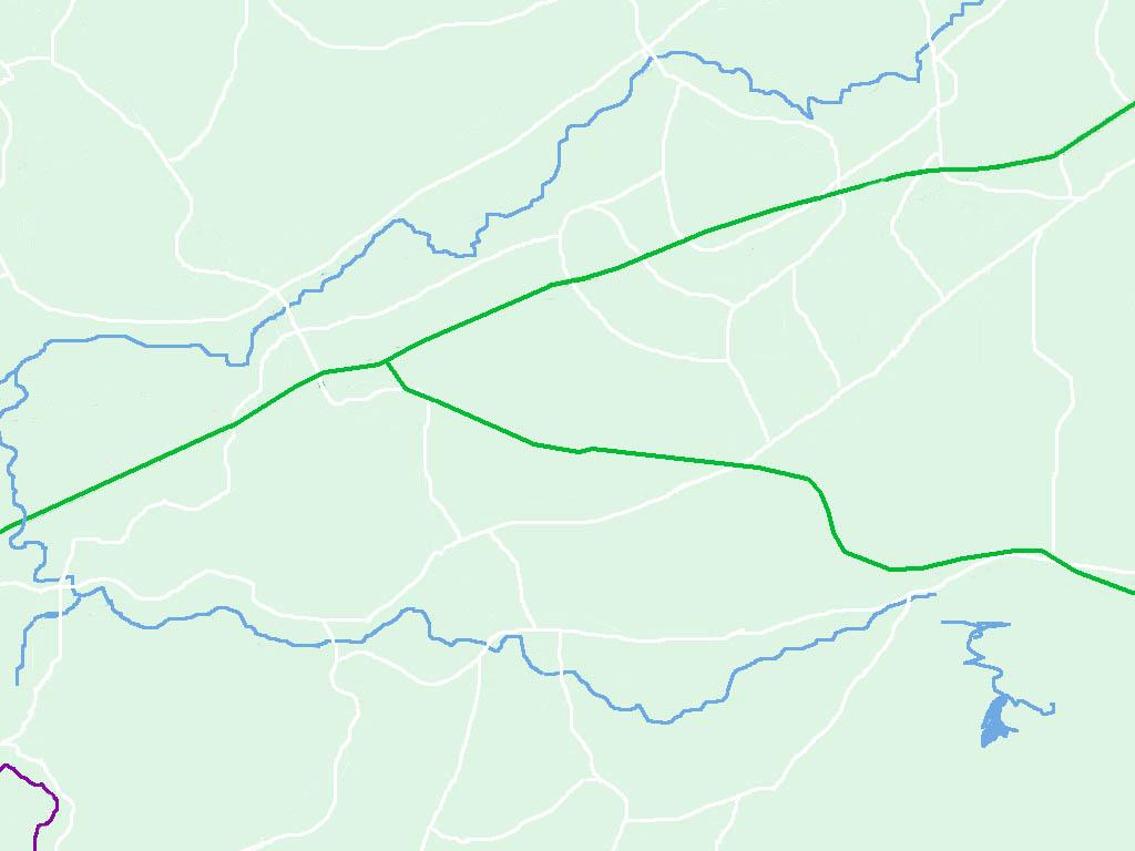 上思县县城地图