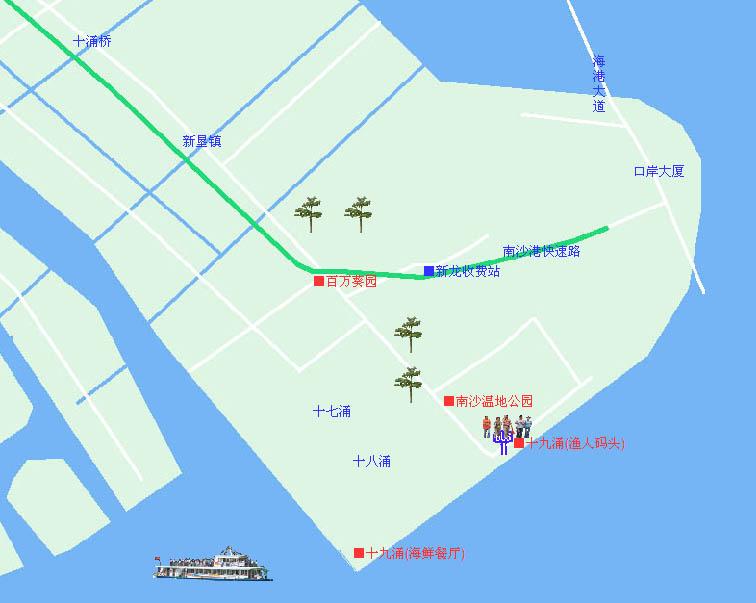 四川新龙旅游地图