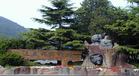 北京动物园布局