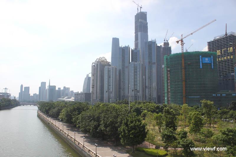广州.珠江新城现代建筑群