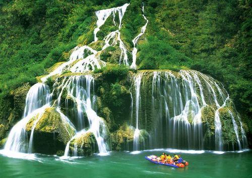 壁纸 风景 旅游 瀑布 山水 桌面 500_354